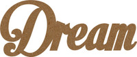 Dream - Chipboard Word