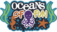 Oceans of Fun - Laser Die Cut
