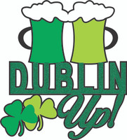 Dublin Up! - Laser Die Cut