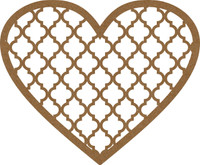 Heart Filigree Frame