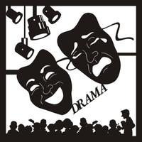 Drama Pg 1 - 12 x 12 Scrapbook OL