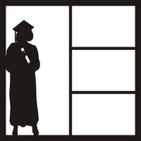 Graduate Girl - 12 x 12 Scrapbook OL