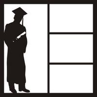 Graduate Guy - 12 x 12 Scrapbook OL