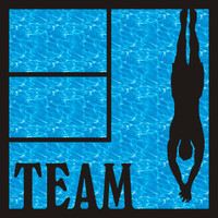 Dive Team Pg 2 - 12 x 12 Scrapbook OL