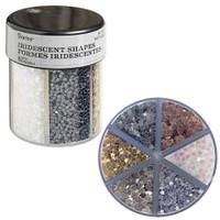Glitter Caddy: Metallic Hearts & Stars