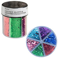 Chunky Glitter Caddy: Primary