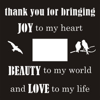 Thank you for Bringing Joy - 12 x 12 Scrapbook OL