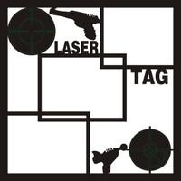 Laser Tag - 12 x 12 Scrapbook OL