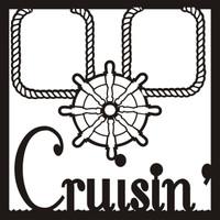 Cruisin Pg 1 - 12 x 12 Scrapbook Overlay