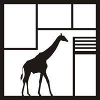 Feeding The Giraffe's Pg 2 - 12 x 12 Scrapbook Overlay