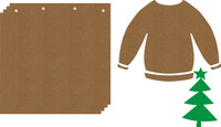 Ugly Sweater Album - Chipboard Album