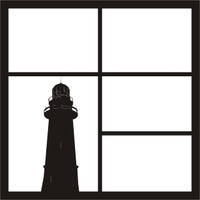 Lighthouse Pg 1 - 12 x 12 Scrapbook OL