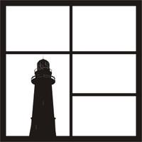 Lighthouse Pg 1 - 12 x 12 Scrapbook OL