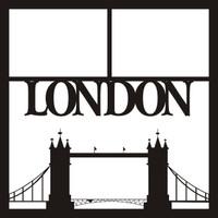 London pg 1  - 12 x 12 Scrapbook OL
