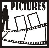 Senior Pictures Guy  Pg 2 - 12 x 12 Scrapbook Overlay