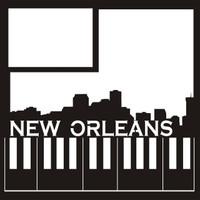New Orleans -  12 x 12 Scrapbook Overlay