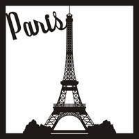 Paris Eiffel Tower - 12 x 12 Scrapbook OL