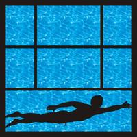 Swim Team Pg 2 - 12 x 12 Scrapbook OL