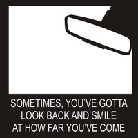 Sometimes You Gotta Look Back - 12 x 12 Scrapbook OL