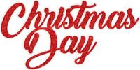 Christmas Day - Laser Die Cut
