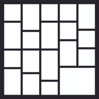 Template  #18 - 12 X 12 SCRAPBOOK OL