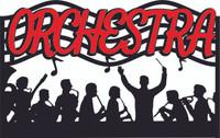 Orchestra - Laser Diecut