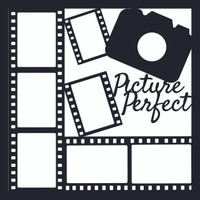 Picture Pefect  Pg 2 - 12 x 12 Scrapbook OL