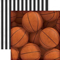 Basketballs - 12 x 12 Double Sided Paper
