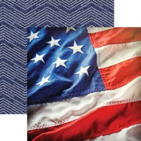 Stars & Stripes - 12 x 12 Double Sided Paper