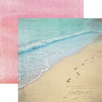 Footprints - 12 x 12 Double Sided Paper