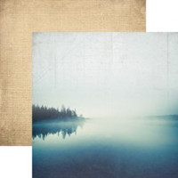 Morning at the Lake - 12 x 12 Double Sided  Paper