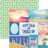 Cruise Tags - 12 x 12 Double Sided Paper
