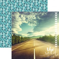 The Road is Life - 12 x 12 Double Sided Paper