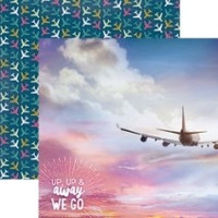 Up, Up and Away We Go - 12 x 12 Double Sided Paper