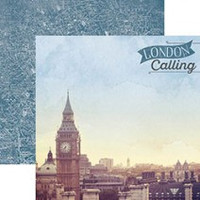 London Calling - 12 x 12 Double Sided Paper