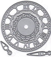 Dies ... to die for metal cutting die - Roman Numeral Clock