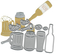 Dies ... to die for metal cutting die - Beer Set