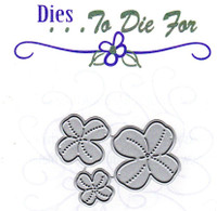 Dies ... to die for metal cutting die - 4 leaf clover Shamrock