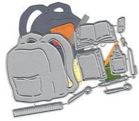 Dies ... to die for metal cutting die - Backpack and School supplies