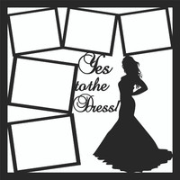 Yes to the Dress - 12 x 12 Scrapbook OL