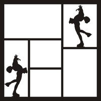 Figure Skating Pg 1 - 12 x 12 Scrapbook OL