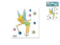 Disney Sticker: 3D Handmade Tinkerbell with Gems (7 Piece)