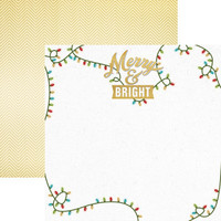 Merry & Bright 12 x 12 Double Sided Scrapbook Paper