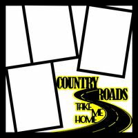 Country Roads Take Me Home - 12 x 12 Scrapbook OL