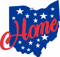 Ohio Home - Laser Die Cut