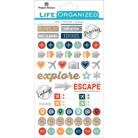 Planner Stickers - 279 pcs, 4 pages by Paper House