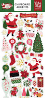 Echo Park Chipboard Accents - Merry & Bright