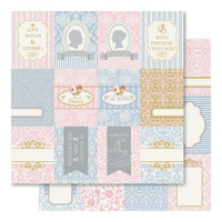 "Bella  My Romance Paper Double Sided  ""Tokens"" - GORGEOUS"