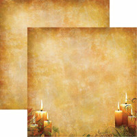 "Kaiser Kraft 12 x 12 Paper Double Sided Paper - ""Harvest Glow"""