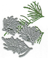 Dies...to die for metal cutting craft die - Pine Needles trio - needle set